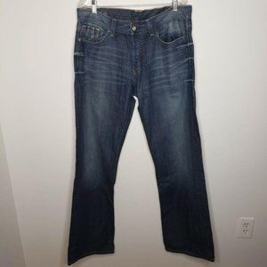 Lucky Brand Dakota Slim Bootleg Denim Jeans Blue